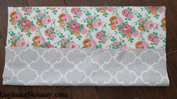 DIY No-Sew Diaper Changing Pad