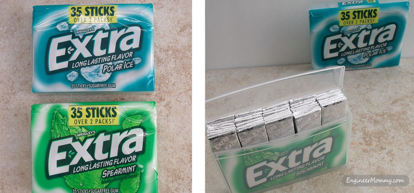 Extra® Gum Spearmint and Extra® Gum Polar Ice®