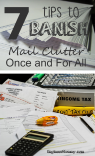 7 Tips to Banish Mail Clutter Once and For All