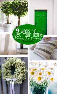 9 Ways to Get Your Home Ready for Spring