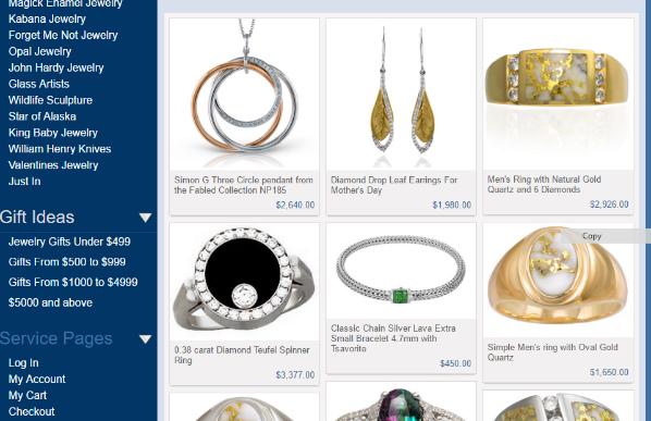 Alaska Jewelry