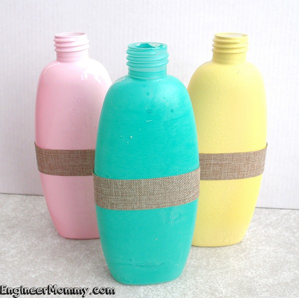 DIY Recycled Vase Craft