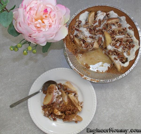 Easy Apple & Pecan Pie