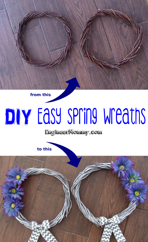 DIY Easy Spring Wreath