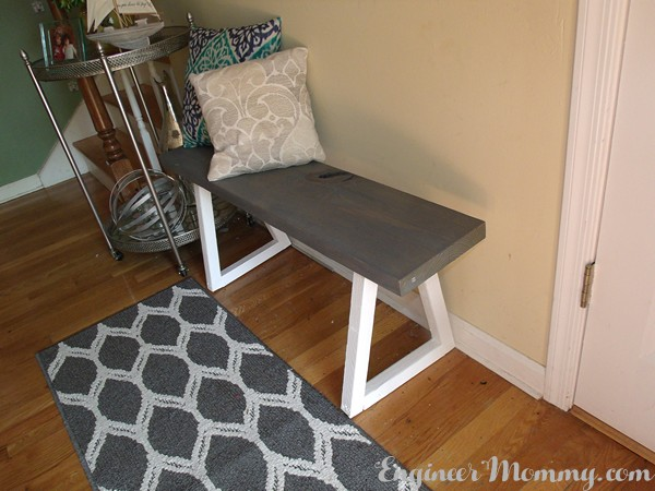 DIY Entryway Bench