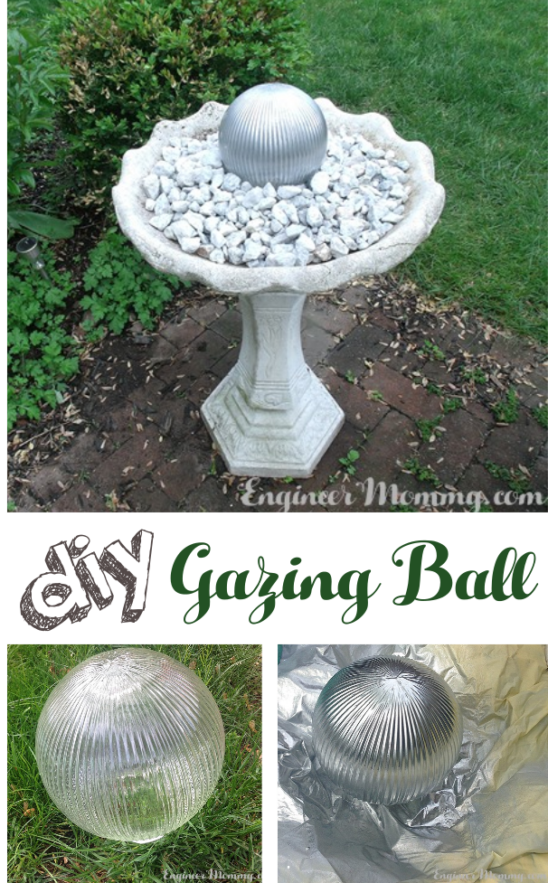 DIY Gazing Ball