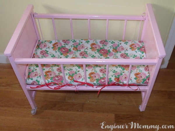 Doll Crib Makeover
