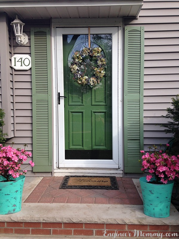 Painting our Front Door: What I Learned Along the Way
