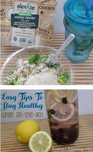 Easy Tips to Stay Healthy While On The Go