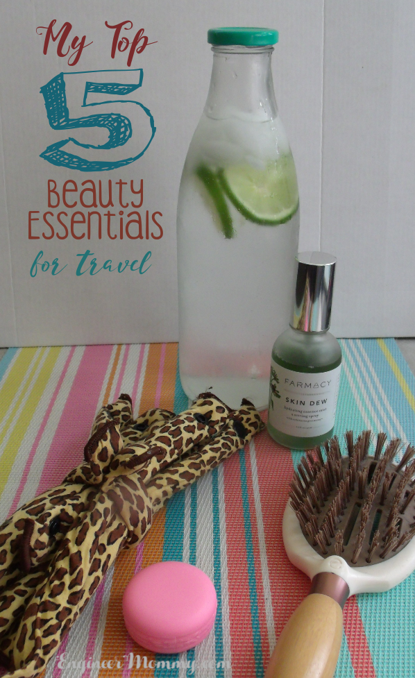 My Top 5 Beauty Essentials for Travel