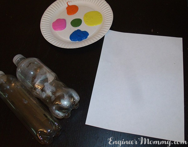 Bottle Stamping Craft