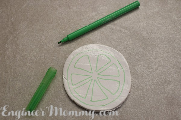 DIY Citrus Slice Coasters