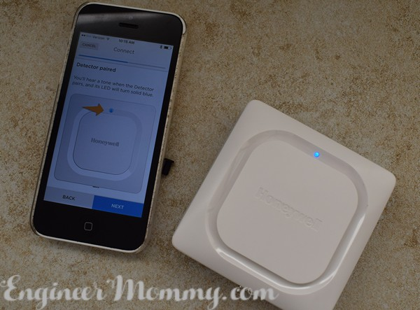 Honeywell Lyric Water Leak and Freeze Detector
