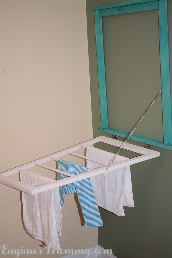 DIY Fold-Flat Drying Rack