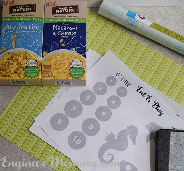 DIY Educational Placemats
