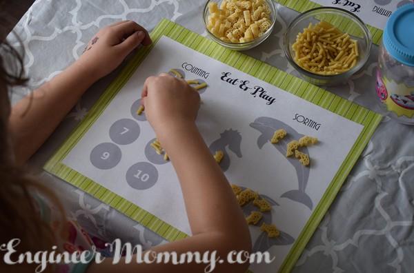 DIY Educational Placemats