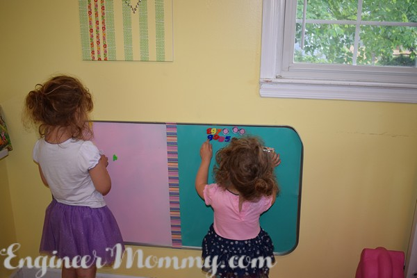 DIY Colorful Magnetic Board