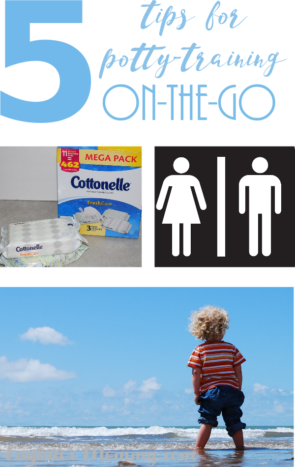 5 Tips for Potty Training On-The-Go