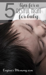 5 Tips for a Restful Night for Baby