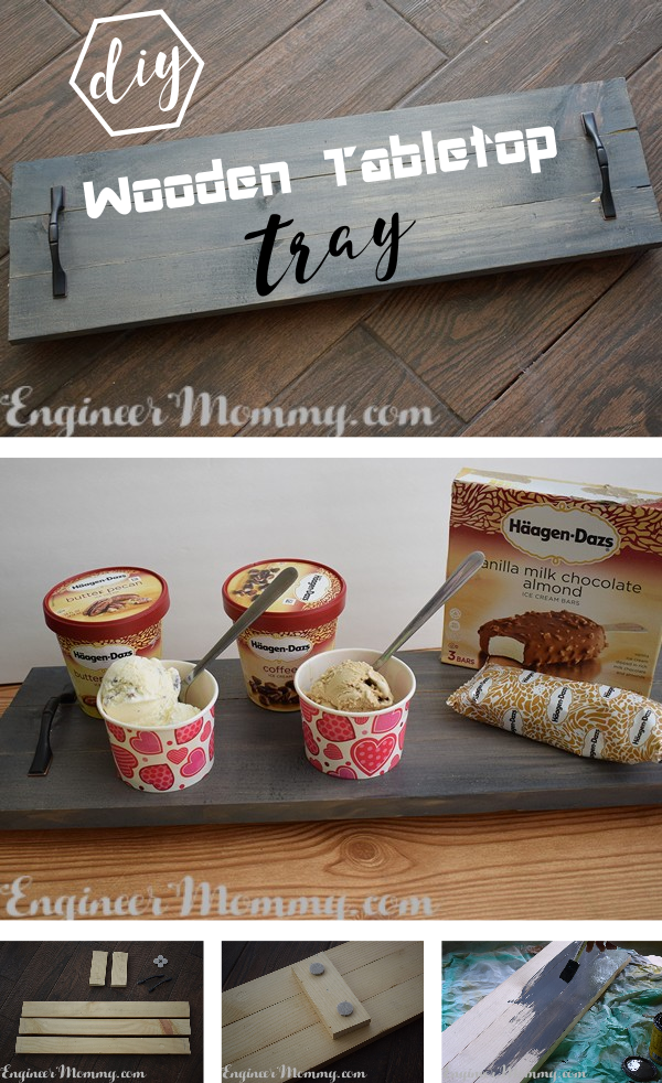 DIY Wooden Tabletop Tray