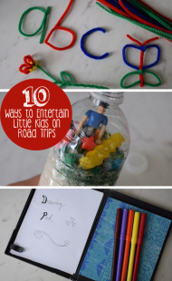 10 Ways to Entertain Little Kids on Road Trips