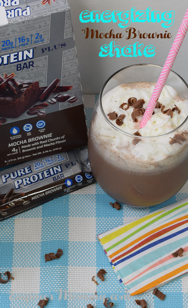 Energizing Mocha Brownie Shake