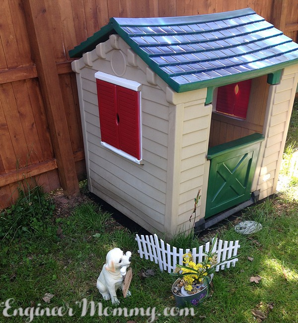 Updated Outdoor Playhouse