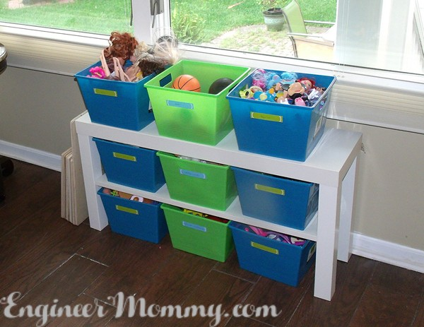 Playroom Organization: Tips for Getting All The Toys Under Control