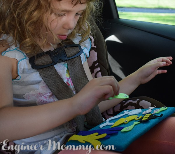 DIY Portable Felt Play Board & Road Trip Tips