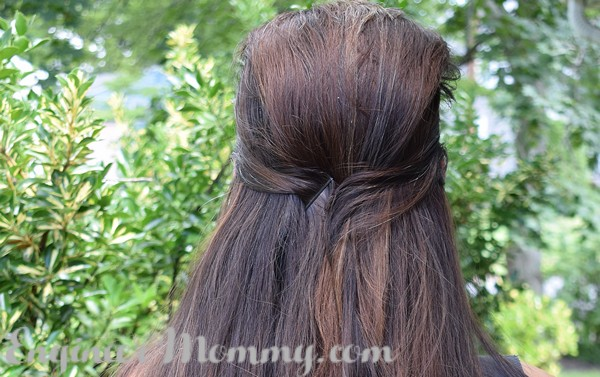 5 Minute Busy Morning Hairstyle