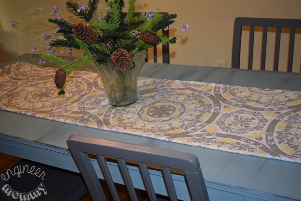DIY Distressed Paint Finish: My Dining Table Makeover