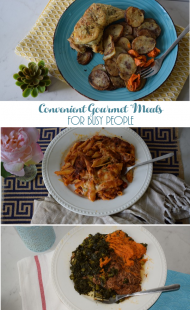 Convenient Gourmet Meals for Busy People