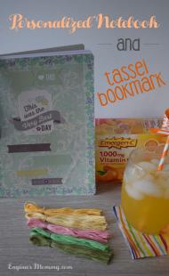 Personalized Notebook & DIY Tassel Bookmark