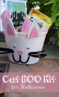 Cat BOO Kit for Halloween