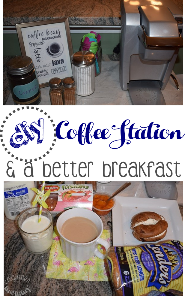 DIY Coffee Station and a Better Breakfast