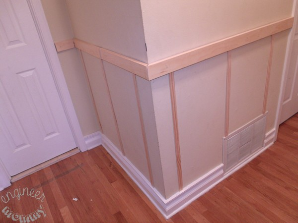 DIY Board and Batten: Our Hallway Update