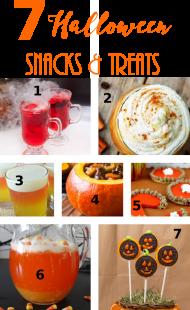 7 Amazing Halloween Snacks & Treats