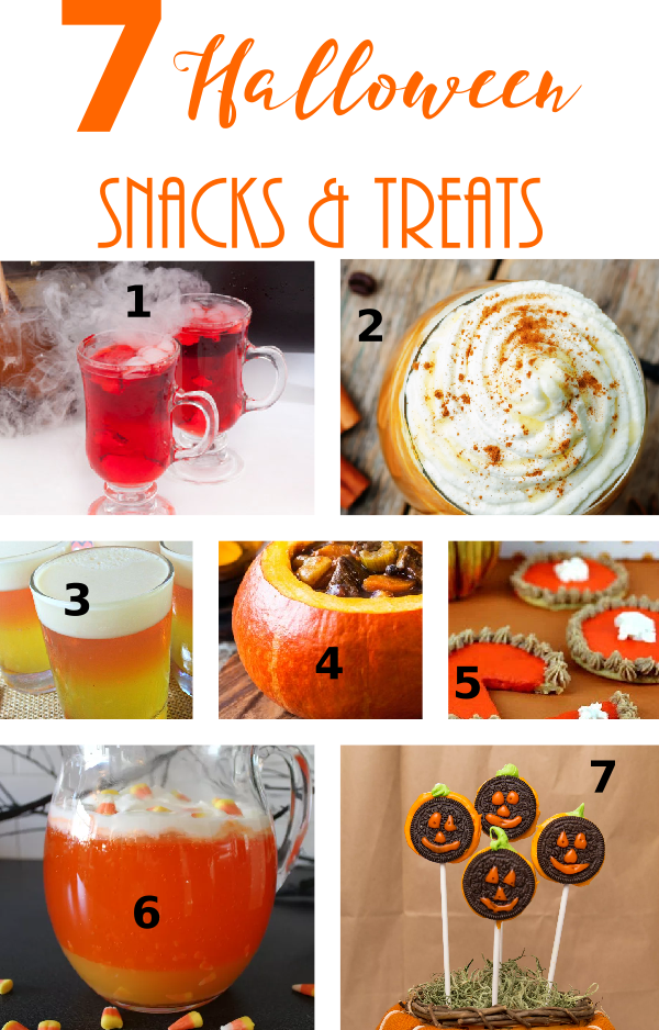 7 Amazing Halloween Snacks & Treats