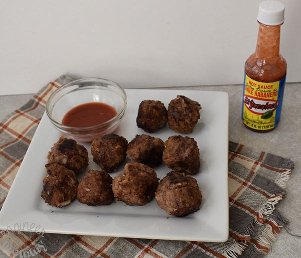 Spicy Honey Garlic Meatballs