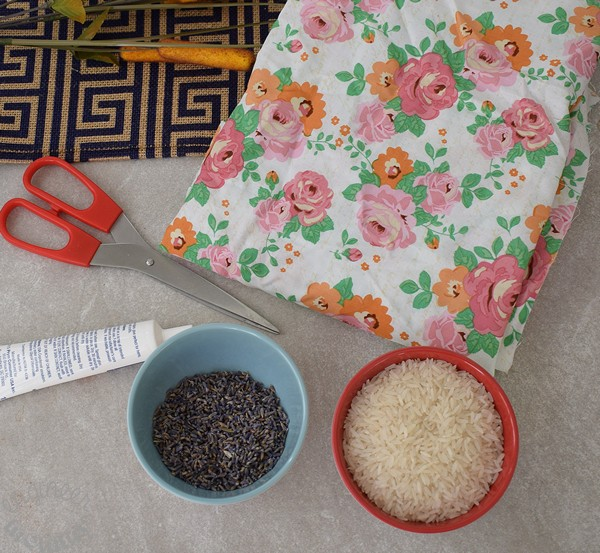 DIY Lavender Sleep Mask