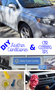 DIY Leather Conditioner & Car Cleaning Tips