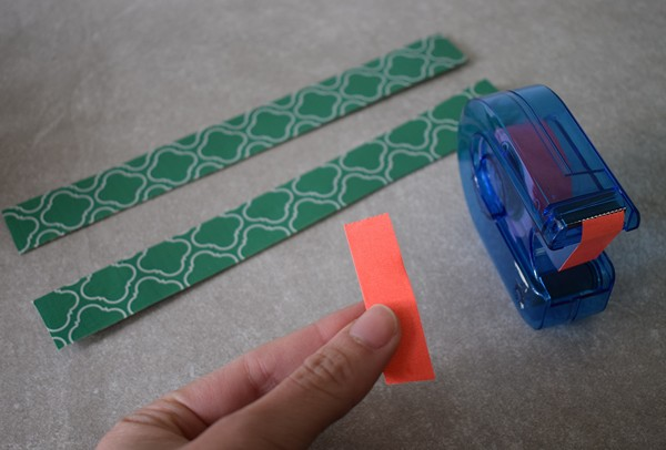 DIY Magnetic Strip Organizer