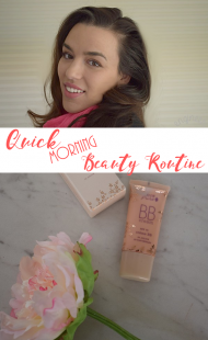Quick Morning Beauty Routine