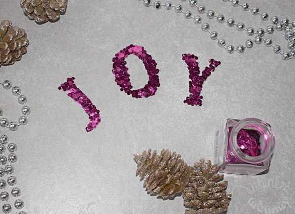 """JOY"" Jars: A DIY Holiday Craft"