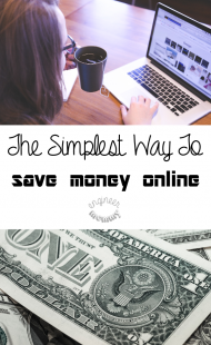 The Simplest Way to Save Money Online
