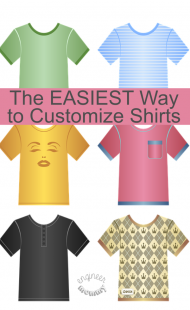 The EASIEST Way to Customize Shirts