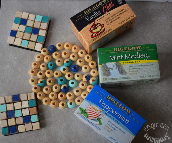 DIY Wood Bead Trivet