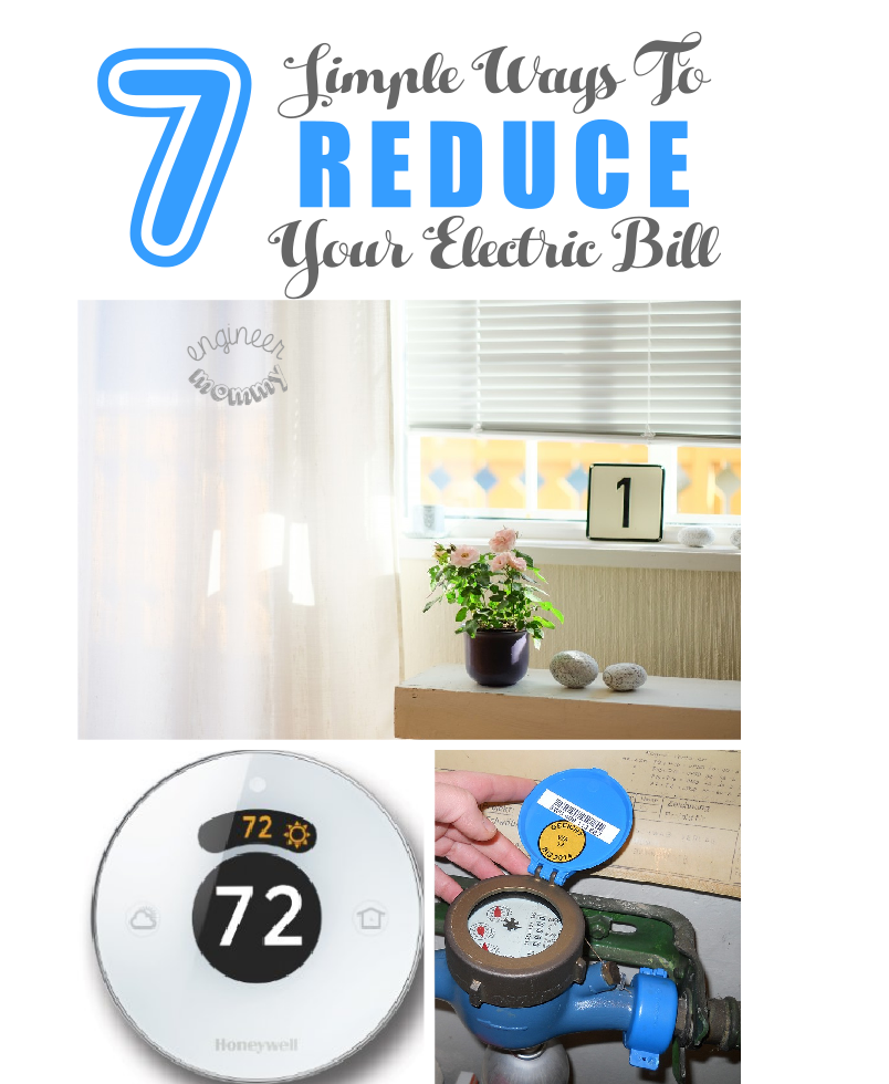7 Simple Ways to Reduce Your Electric Bill