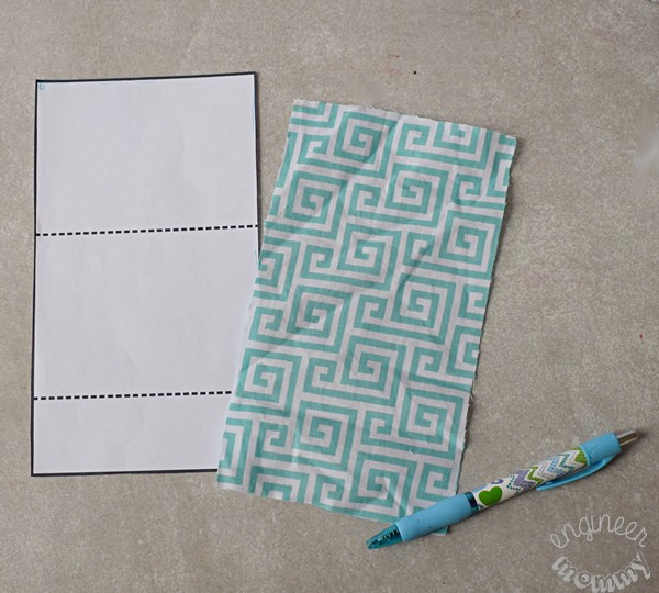 DIY No-Sew Fabric Snack Bags