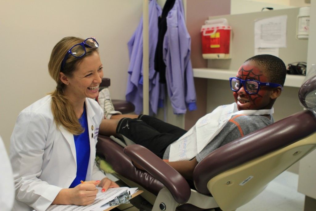 Give Kids A Smile Day, Nova Southeastern University College of Dental Medicine, Davie, Fla., February 5, 2016. Photo credit: ADA Foundation.